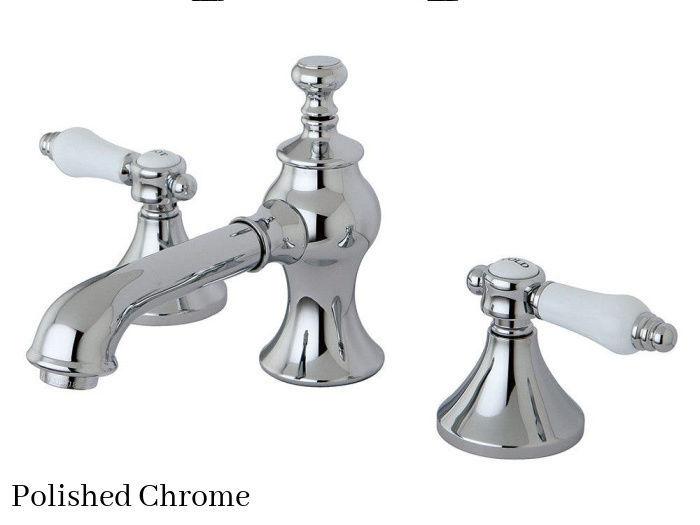 Kingston Brass Bel-Air Widespread Bathroom Faucet KC7061BPL Polished Chrome