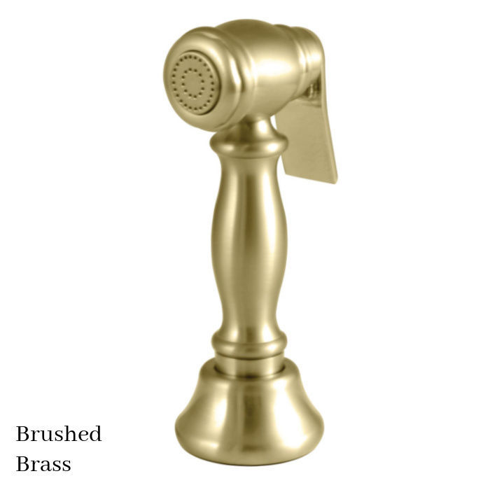 Kingston Brass Vintage Kitchen Faucet Side Sprayer CCRP1K7SPR Brushed Brass