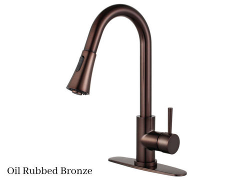Kingston Brass Concord Single Handle Pull-Down Kitchen Faucet
