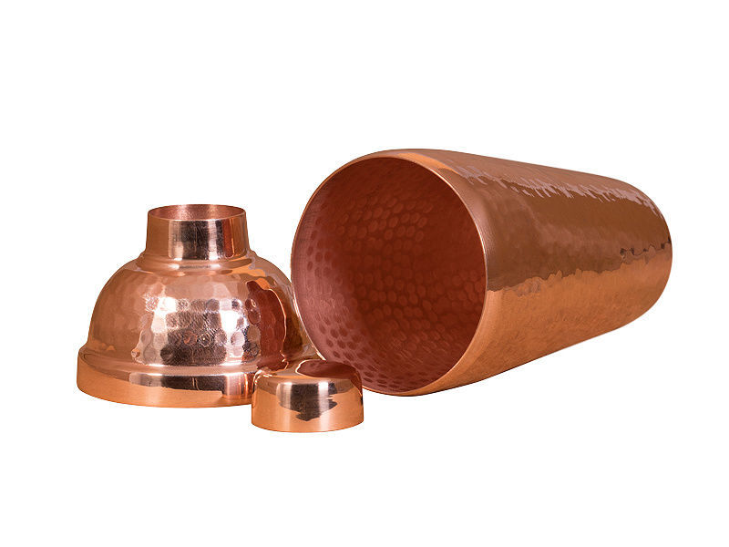 Picture of Polished Copper Martini Shaker By SoLuna