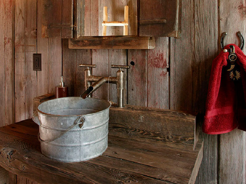 Picture of Sonoma Forge | Bathroom Faucet | WaterBridge Waterfall Spout | Deck Mount