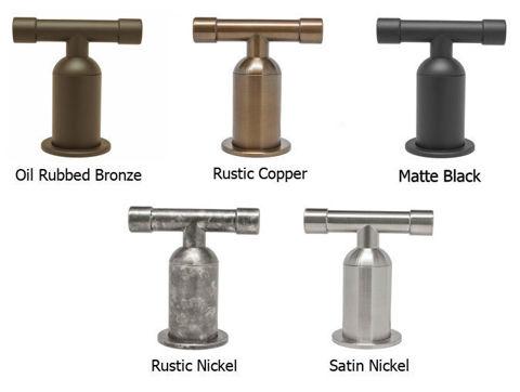 Sonoma Forge   Bar or Prep Faucet   Brut Elbow Spout Single Post   Deck Mount