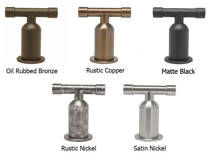 Picture of Sonoma Forge | Bathroom Faucet | Cap Spout | Wall-Mount | Hands Free