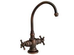 Waterstone Hampton Hot and Cold Filtration Faucet - Cross Handles