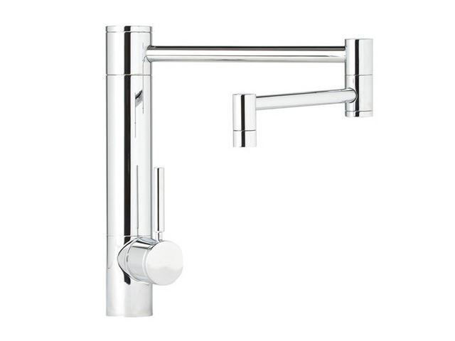 "Picture of Waterstone Hunley Kitchen Faucet - 18"" Spout Reach"