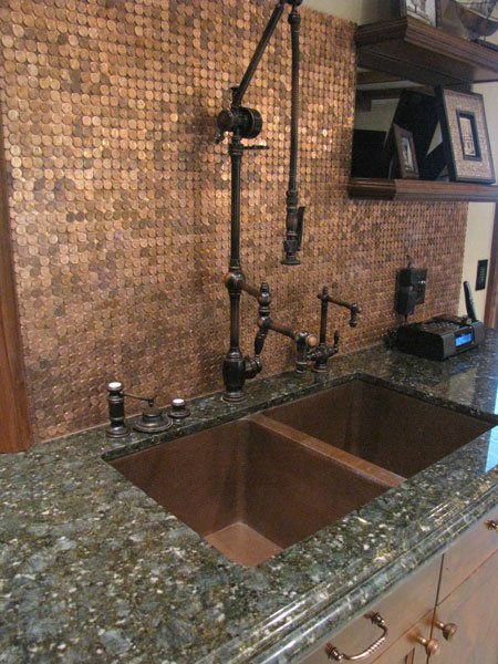 "Picture of Waterstone Towson Gantry Kitchen Faucet with 18"" Articulated Spout"
