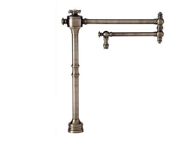 Picture of Waterstone Traditional Deck Mounted Pot Filler Faucet - Cross Handle