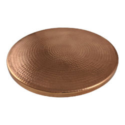 Picture of Hammered Copper Lazy Susan by SoLuna