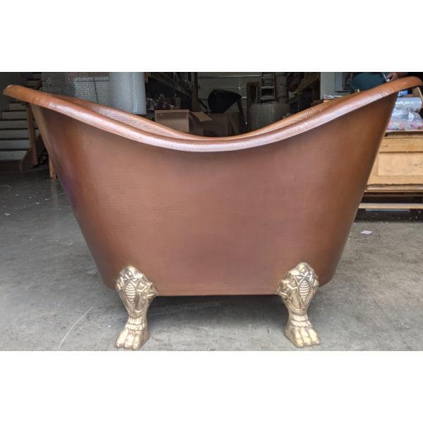 Picture of Nicole Clawfoot Copper Bathtub by SoLuna - SALE