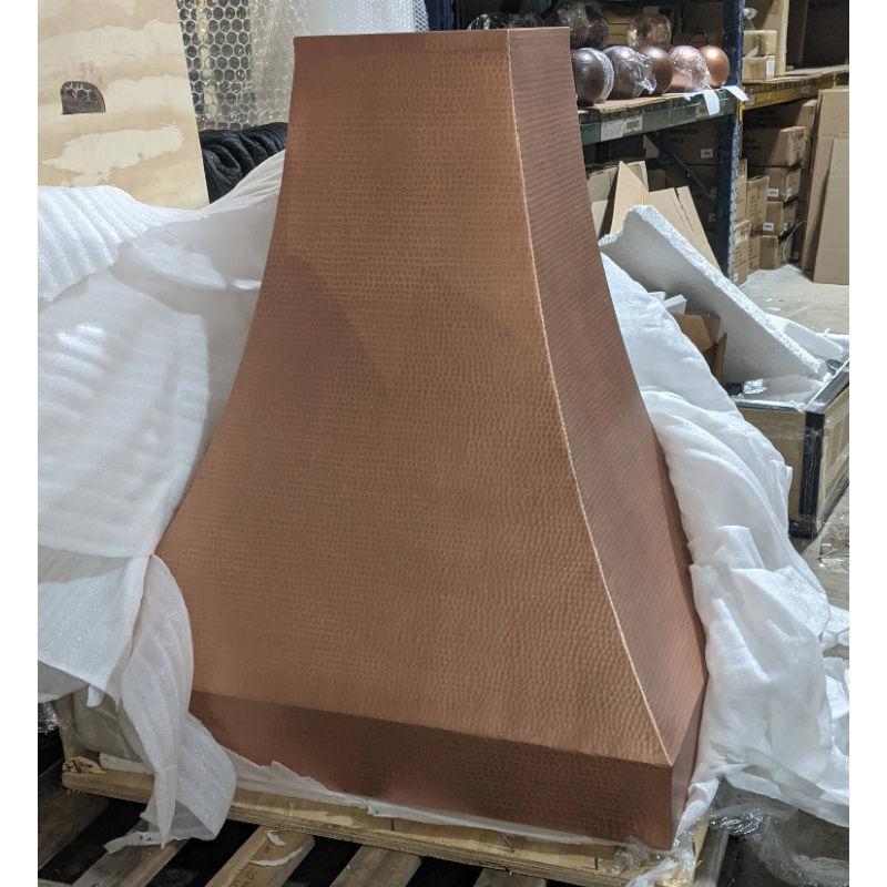 Picture of Mediterranean Copper Range Hood in Matte Copper by SoLuna - SALE