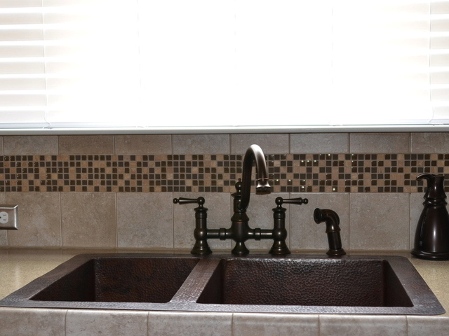 Medium Double Well - 60/40 - Copper Standard Sink